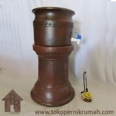 Gerabah, Natural Dispenser Set - PLS