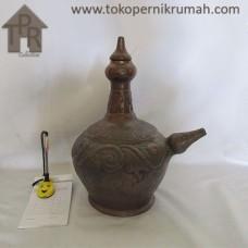 Gerabah, Natural Kendi Batik - L