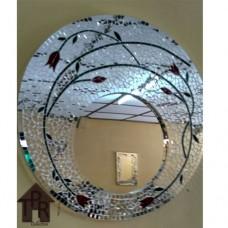 Cermin, Mosaik Bulat Bottom - B