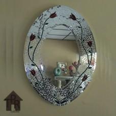 Cermin, Mosaik Oval - B