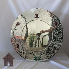 Cermin, Mosaik Bulat Mirror - B