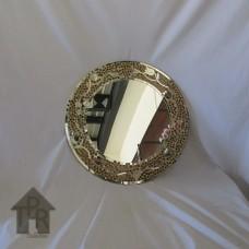 Cermin, Mosaik Bulat Creamy-B