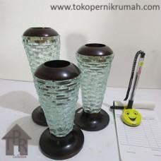 Pajangan, Set Tempat Lilin Silinder (3)