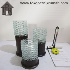 Pajangan, Set Tempat Lilin Silinder LRS (3)