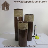 Pajangan, Set Bambu Miniatur Tali (3)