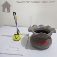 Pot Mini, Kedeplek Coklat - T10