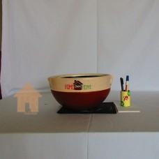 Vas Casual, Pot Bonsai Coklat - L