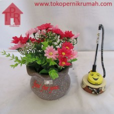 Bucket, Pot Kedeplek Bunga Aster -M