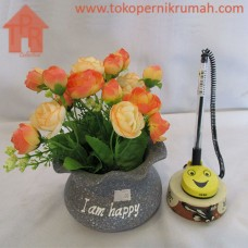 Bucket, Pot Kedeplek Bunga Mini Klereng