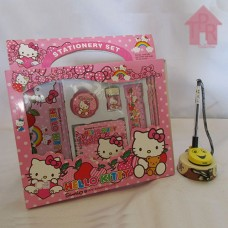 Kado Anak - Hello Kitty Stationery Set - N