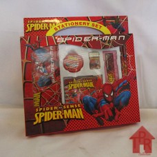 Kado Anak - Spiderman Stationery Set - N