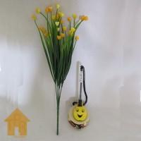 Bunga, Artifisial Mini Kucai Ros - Kuning