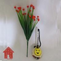 Bunga, Artifisial Mini Kucai Ros - Merah