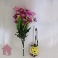 Bunga, Artifisial Mini Aster - Ungu