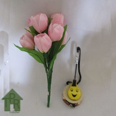 Bunga, Artifisial Mini Tulip - Pink