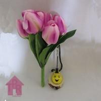 Bunga, Artifisial Tulip Bludru - Ungu