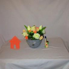 Bucket, Vas Meja Kombinasi Tulip