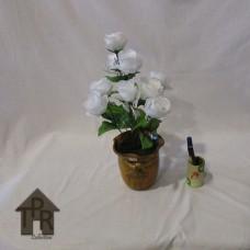 Bucket, Vas Meja Mawar Putih