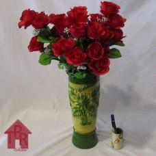 Bucket, Vas Mawar Merah (Prototype)